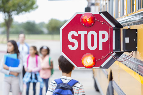 passing school bus violations traffic ticket defense lake county illinois